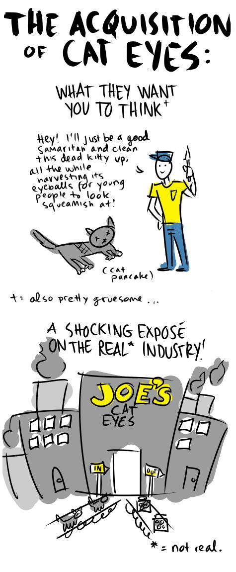Old Comic: Animal Eyes, Pt. 2