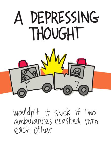 Deleted Comic: Ambulances